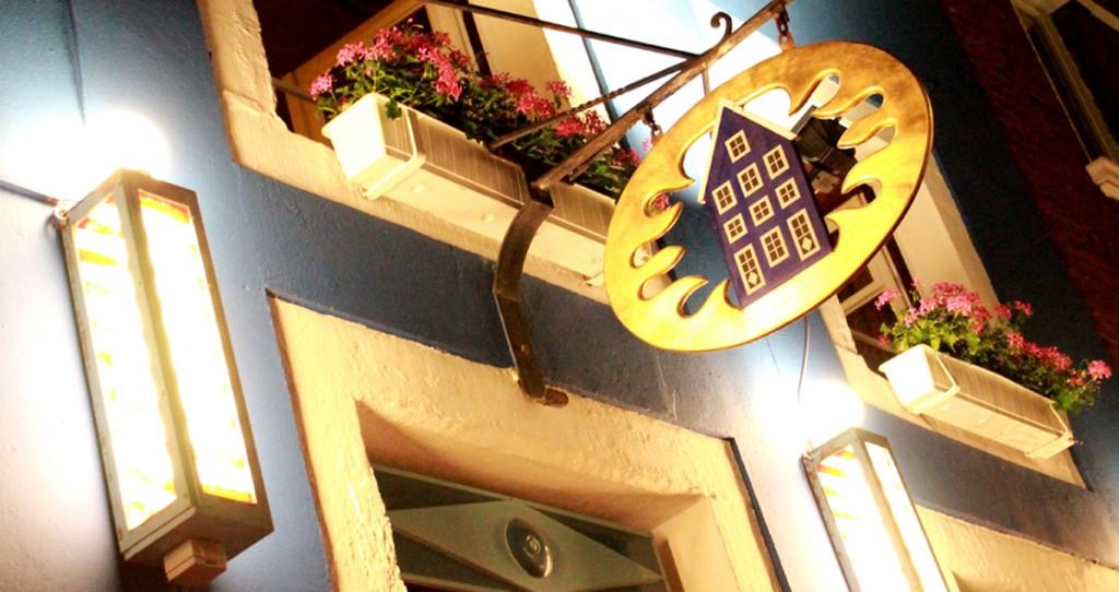 Aussenansicht - Das Blaue Haus
