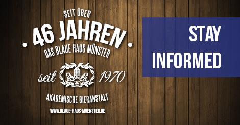 News - Das Blaue Haus Münster
