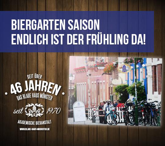 Biergarten im Blauen Haus