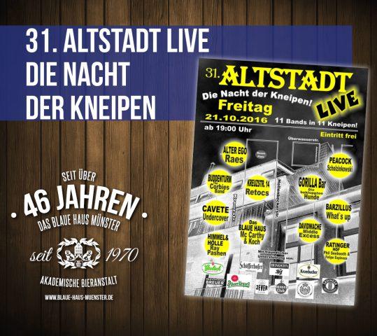Altstadt Live zum 31 Mal