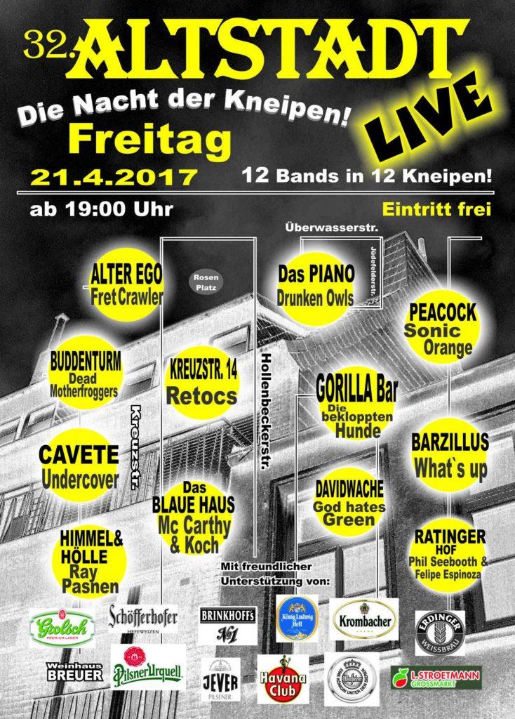 32. Altstadt Live im Blauen Haus