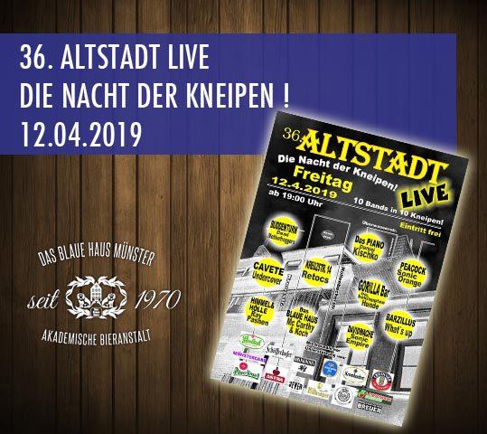 Altstadt Live zum 36 Mal